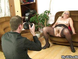 Порно фото зрелых мамочек