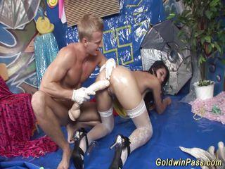 Порно анал вудман